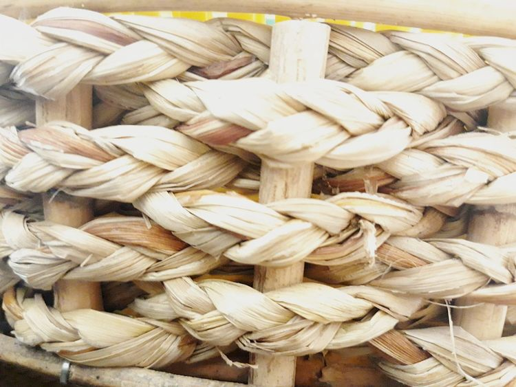 Straw bales are strong.!! EyeEmNewHere Art And Craft Baskets Basket Basket Harmony Local Knowledge Handmade Craft Thailand Wicker Basket Textured  Braid Gamification Weave Pattern Textile Togetherness Natural Materials EyeEm Ready   Full Frame Abundance Large Group Of Objects No People High Angle View Close-up