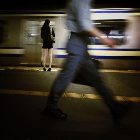 Streetphotography Night Station