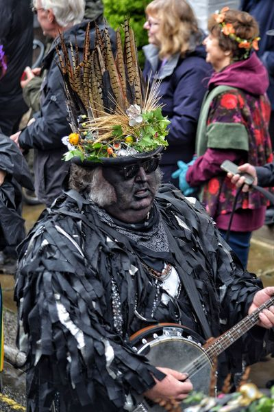 Jack In The Green Festival May Day 2017 Jack In The Green Hastings East Sussex Carnival Pagan Pagan Festival Parade Tradition Celebration People Arts Culture And Entertainment Outdoors Adult Day Real People Crowd Adults Only Men City Rook Bird Travel Destinations Live For The Story