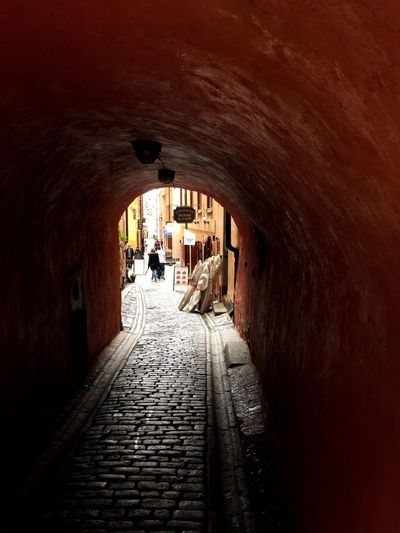 Real People Arch The Way Forward Built Structure Tunnel Architecture Walking Indoors  Leisure Activity Light At The End Of The Tunnel Day Full Length Lifestyles Sunlight One Person Men Women Nature People