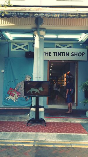 The Tintin Shop Tin Tin Tintin