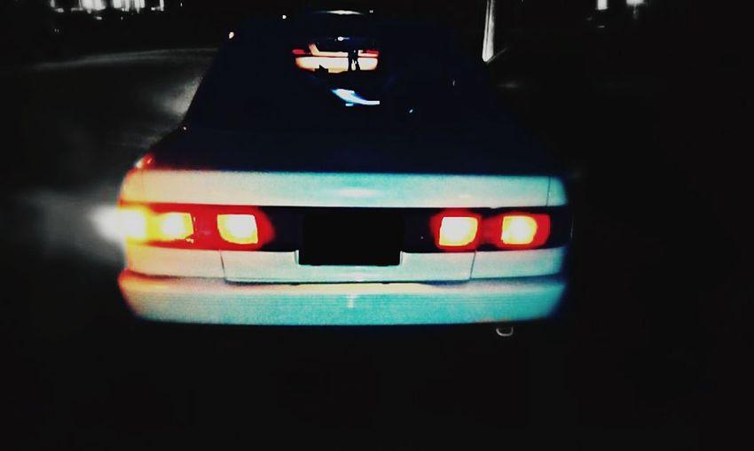 Nissan NissanSentraB13 Nightphotography Night Lights Light And Shadow Dunlopsports NISMO 30th Anniversary Racing Car B13 Vcocam