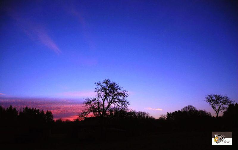 Coucher de soleil Sologne Loiretcher Photography