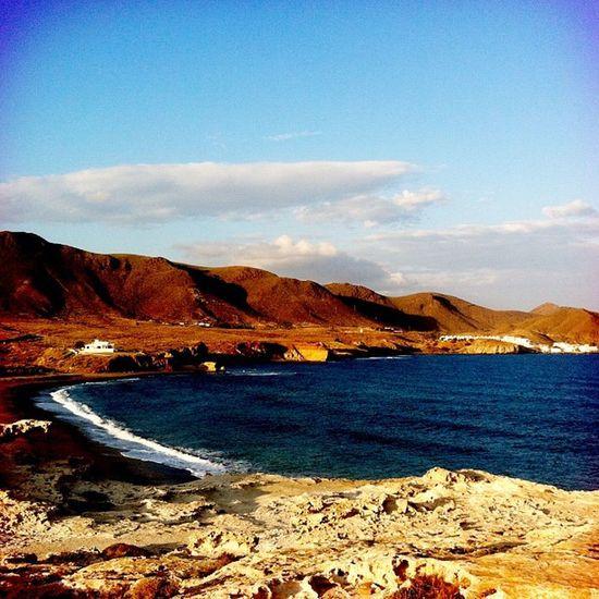 Playa de los escullos #almería #cabodegata #nijar #losescullos Almería Cabodegata Níjar Losescullos