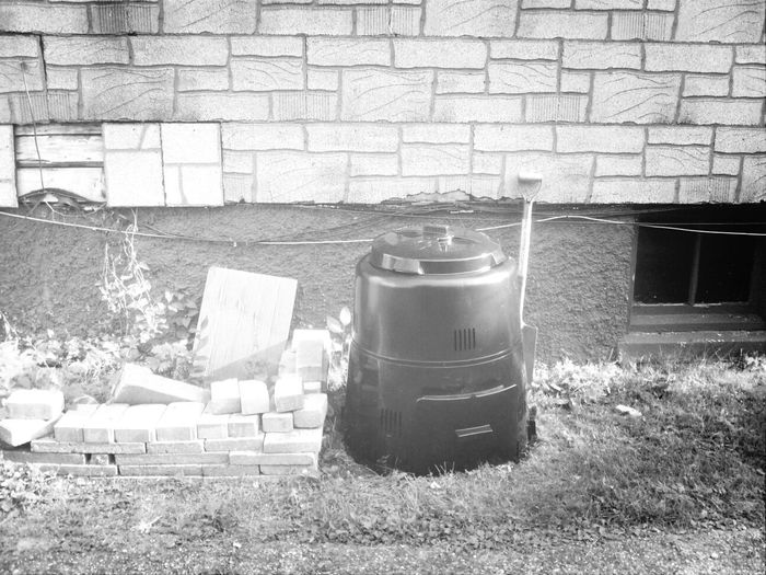 My dad and Ihave decided to start a compost bin Greener Milwaukee Compost Father Daughter Moments