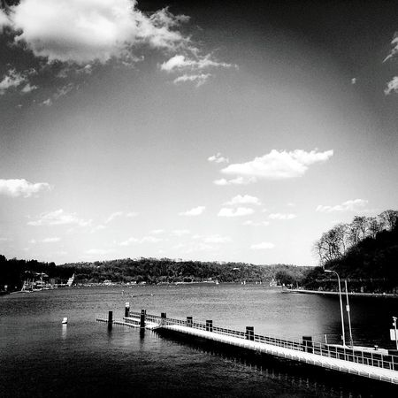 Spring At Home Spring Springtime Baldeneysee Stadtessen Ruhrgebiet Ruhrpott Lake Lake View Germany Clouds And Sky Clouds Clo