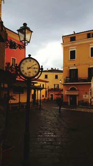 Sunset Holidays Lampione Orologio Piazzadellorologio Color Place Hello Sea Italy Isola D'Elba