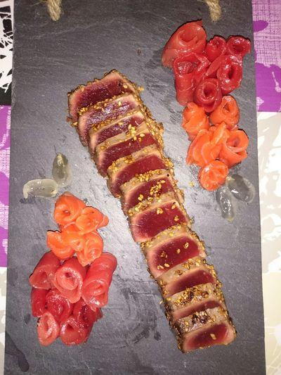Tataki Tataki De Atún Sushi Sushi! Food Comidas Comida Japonesa Fet A Casa Japan Food The One Tataki