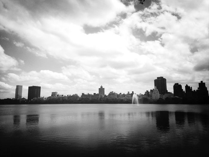 Good morning New York City. Central Park For The Love Of Black And White Black And White The EyeEm Facebook Cover Challenge