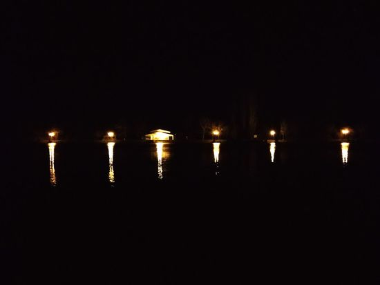 No People Reflection Night Scenics Illuminated Outdoors Water