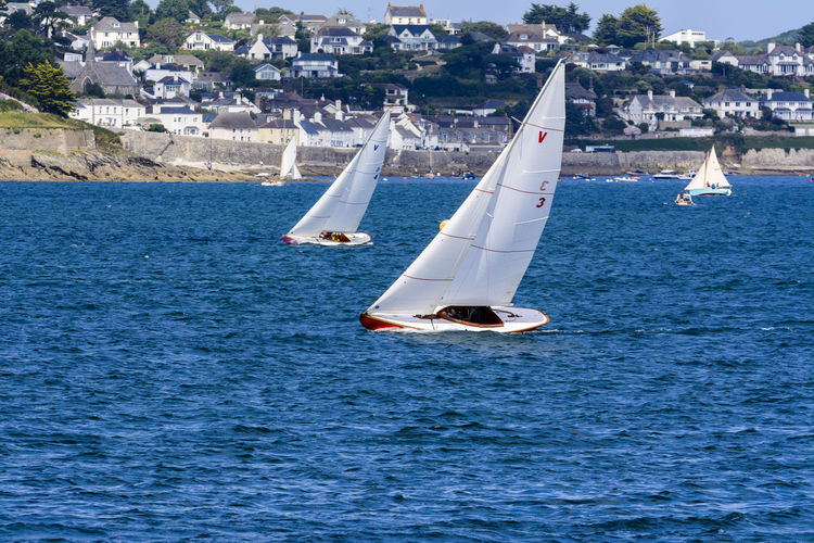 Scenes from Falmouth Week in Falmouth, Cornwall, UK Boats Boats⛵️ Cornwall Cornwall Uk Falmouth Leisure Activity Nautical Nautical Vessel Regatta Sailboat Sailing Seascape