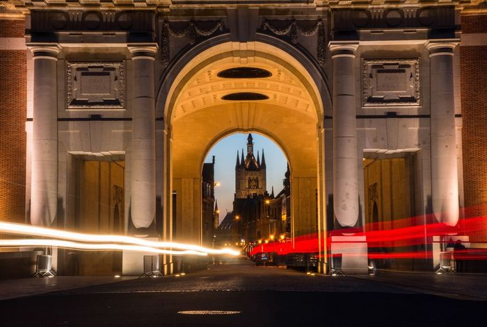 Ypres Ieper Nightlights Gate Streamzoofamily In And Out Long Exposure EyeEm Best Shots VSCO Cam Eye4photography