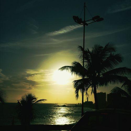 """"""" Qualdo o sol se põe vem o Farol iluminhar as águas da Bahia..."""" Sunshine Enjoying The Sun"""