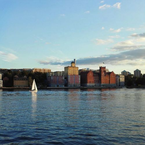 Water Architecture Building Exterior Stockholm Sweden Travel Destinations Outdoors Day Cityscape Urban Skyline City Baltic Sea