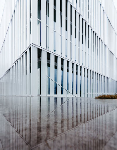 Full frame shot of modern building against sky