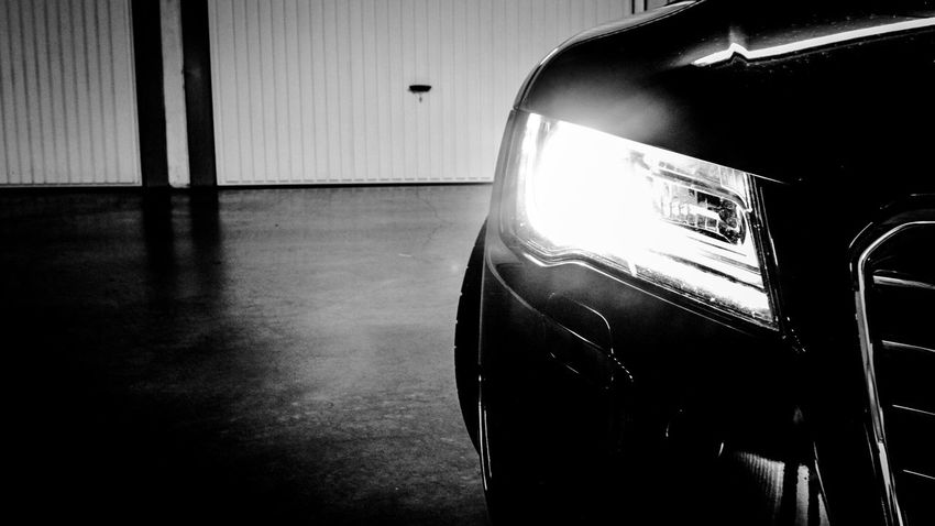 Audi Car Eye4black&white  Eye4photography  EyeEm Best Shots - Black + White Glass Glass - Material Human Leg Indoors  Land Vehicle Low Section Mode Of Transport Music Mystery Occupation Old-fashioned One Person Part Of Street Technology Transparent Transportation Vehicle Interior Window Audi A7