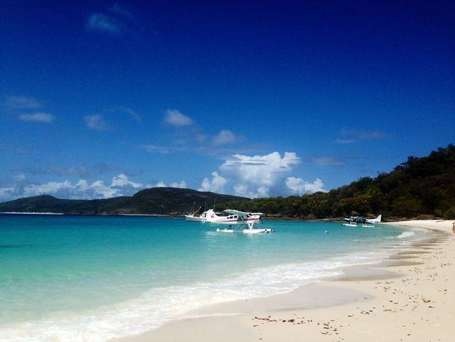 Whitsundays whitehaven beach australia queensland