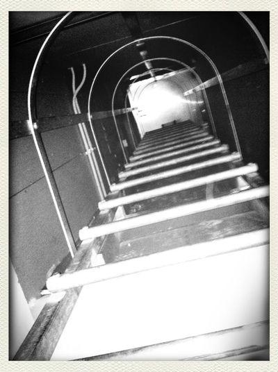 Malditas escaleras... Pero ayuda a ejercitar el cuerpo :)