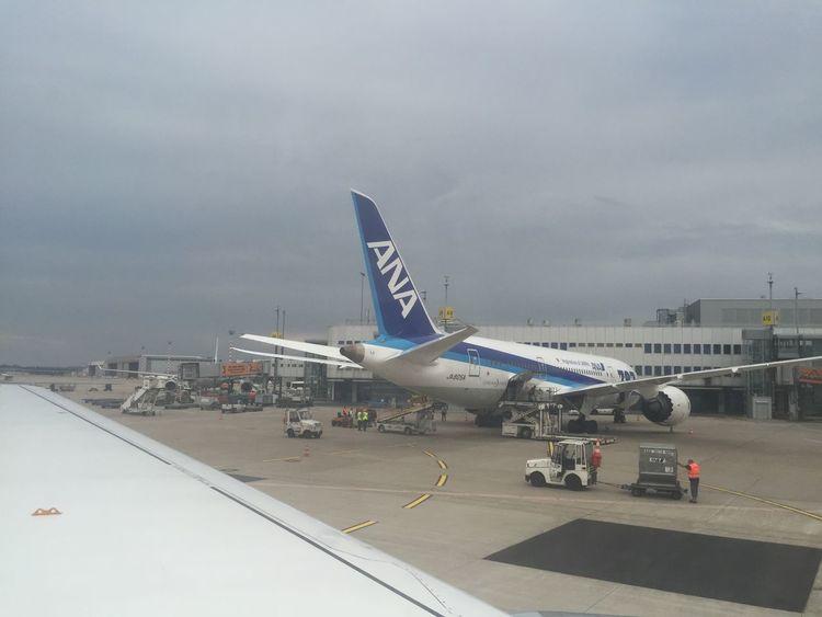 Düsseldorf Airport Dreamliner Boeing 787 Airplane