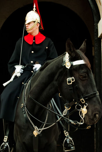 Horse Guard Royal Guard Royal Horse Guard Royal Horse Artillery Military London One Person People EyeEm Ready