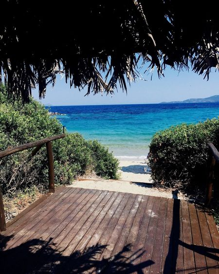 Summertime Summer Views Summer Vibes Sunny Day Sea And Sky Blue Beach Nature Beauty In Nature Green Greece