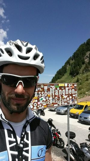 That's Me Cycling Beautiful Mountains