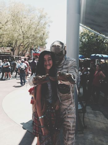 I look horrible but this was from universals