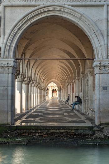Interior of historic building