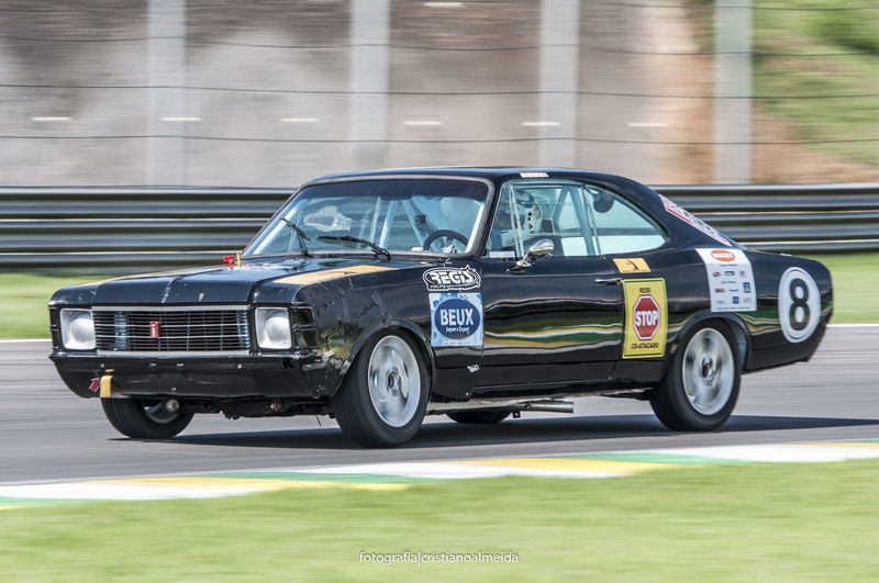 Car Corrida Land Vehicle Motion Motor Vehicle Oldschool Opala Racing Car Retro Styled Side View Speed