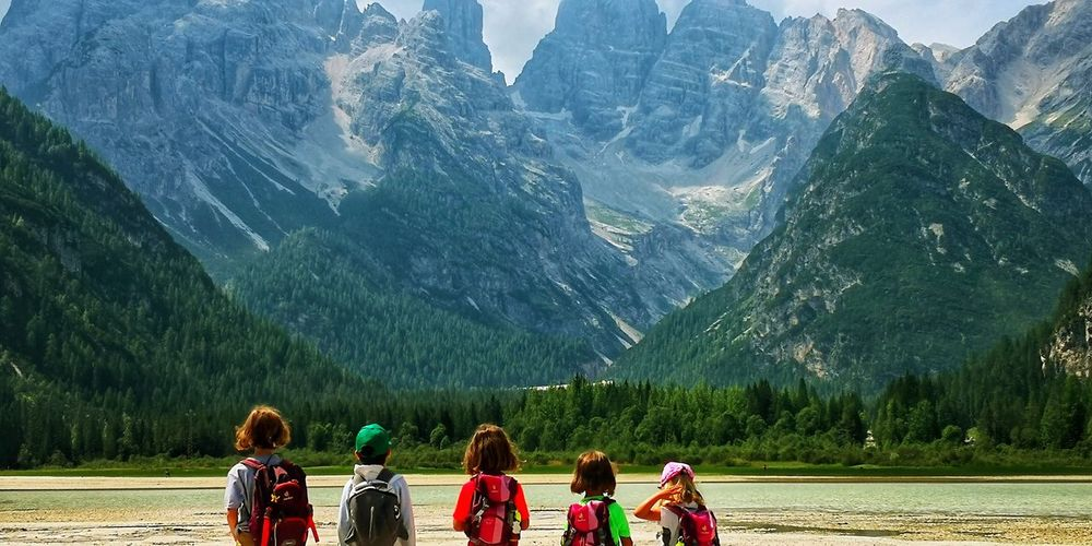 National Park Dolomites, Italy UNESCO World Heritage Site Green Color EyeEm Nature Lover EyeEm Best Shots EyeEm Selects Looking Summer Lakeside Lakeview Tree Mountain Women Pine Tree Pinaceae Young Women Snow Men Lush - Description Hiking Pine Woodland Coniferous Tree Woods WoodLand Forest
