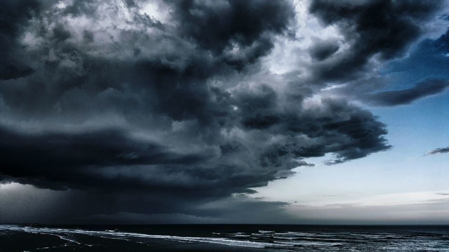 Darkness Overtakes the Horizon. Maine Storm Storm Cloud Maine The Way Life Should Be Landscape Landscape_photography Coastline Coast