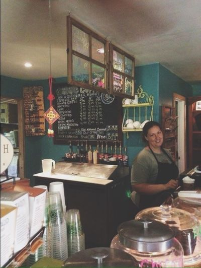 WomeninBusiness barista time! Barista Coffee Caffeine Addict Espresso Machine