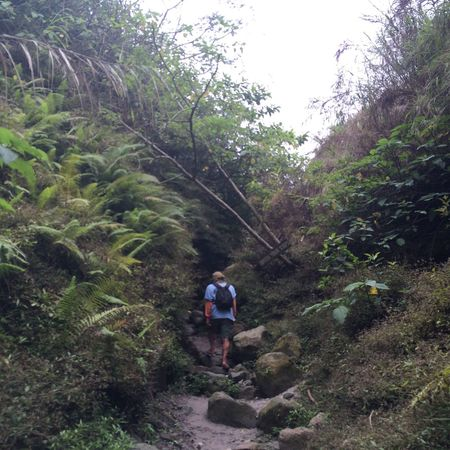 Enjoying Life Hiking Volcano Philippines