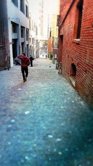 Alley Alleyway EyeEm Gallery Mix App Urban Light And Shadow EyeEm Best Shots Smartphonephotography People Watching Eye4photography  Melancholy Melancholic City Life City Shots EyeEm City Shots Seattle