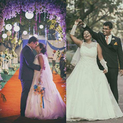 Jbclickz Fotomartin_mumbai Wedding Catholicwedding Coupleportrait Happiness Kiss Magicalday Weddingsutra Candidmoments Weddingphotographer