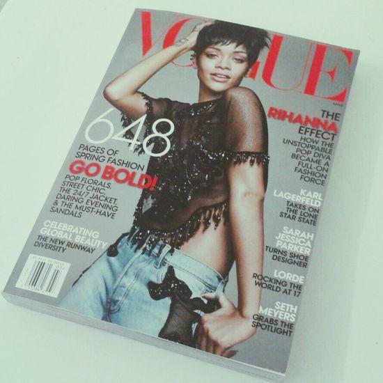 Amorzinho do dia. Magazine Rihanna Queen Love
