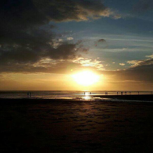 Sea Scenics Tranquility Travel Destinations Reflection Silhouette No People Seminyak Bali Seminyak Sunset 🌅