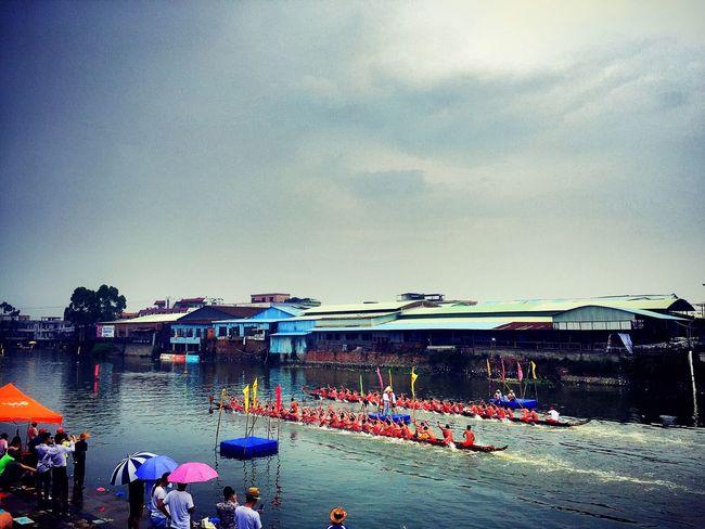 Summer Enjoying The Sun Enjoying Life Climb The Dragon Boat The Dragon Boat Festival