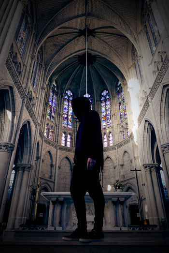 No caption for mystery. Adult Adults Only Atmospheric Mood Church Day Dramatic Sky Full Length Indoors  Low Light Men No Face One Man Only One Person Only Men People S Standing Urbex