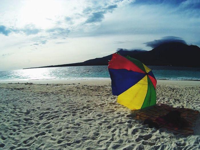 Beach umbrella Beach Umbrella White Island Camiguin Camiguinisland Camiguin White Island Camiguin Philippines Camiguin Island