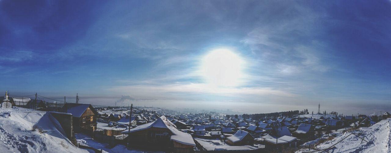 Winter White By CanvasPop Buryatia Ulan-Ude Panorama