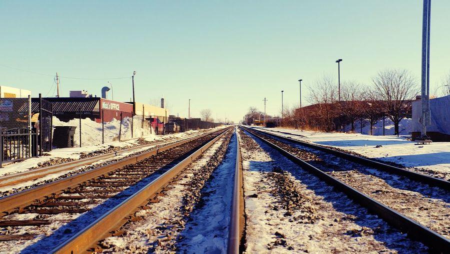 QVHoughPhoto FujiFilmX100 Moorhead Minnesota Cityscapes Traintracks Micksoffice Urban1