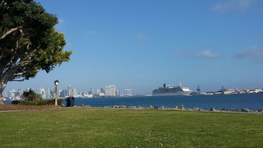 Shelter Island kind of day! Sandiegobay Cruise Ship Hanging Out San Diego Ca Shelterisland BREEZY Fishing Ocean Bay