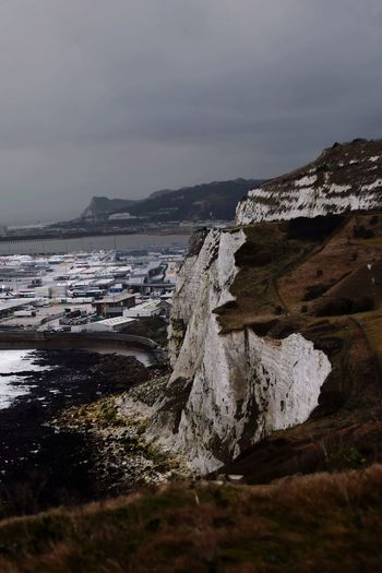 Edge of England Dover White Cliffs  Cliff White Cliffs Of Dover England Uk No People Black Beach Hike Travel Landscape Beach Mountain Nature Rock - Object Vacations Outdoors Travel Destinations Beauty In Nature No People Sea Sky Scenics Water