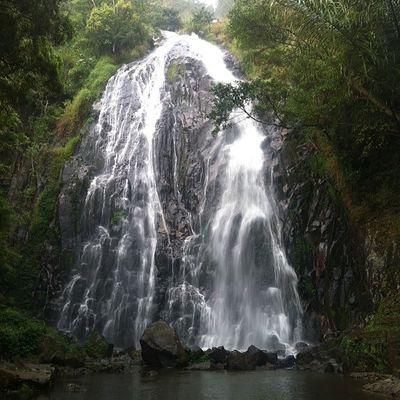 Sampuran Efrata Waterfall, Desa Sosor Dolok, Kecamatan Harian, Kab Pangunguran, Sumatra Utara, Indonesia