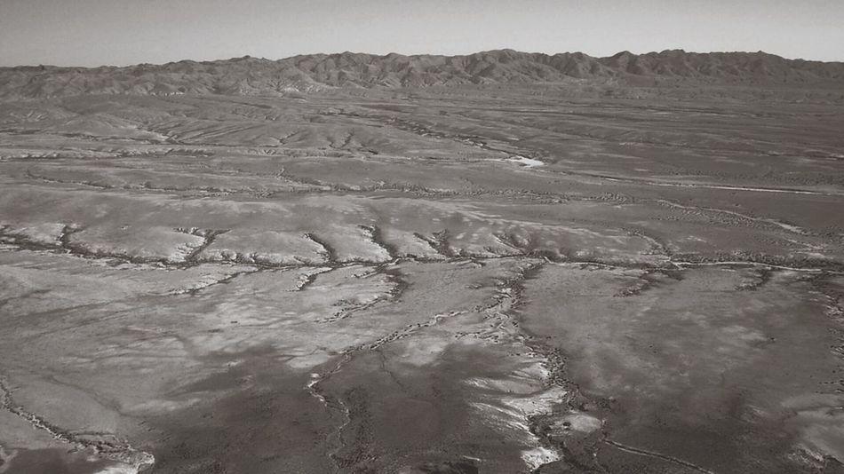 Nature Travel Grassland bird's eye view of the desert