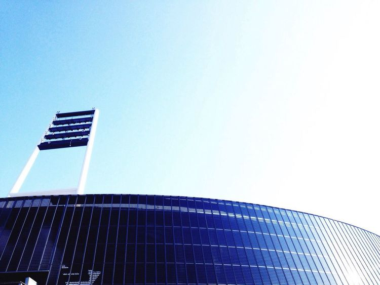 Minimalism Minimal Minimalobsession Bremen Weserstadion Werder Bremen City Urban Sky Tranquility Architecture Soccerstadium Stadium Werder WerderBremen Showcase April Stadion Fußballstadion Modern Modern Architecture The Architect - 2016 EyeEm Awards Football Fever