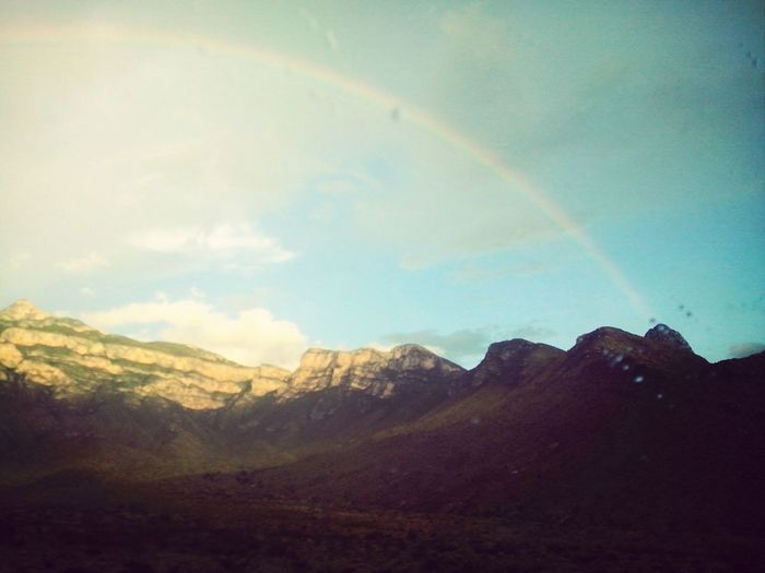 Rainbow #nature #arcoiris #nice Roadtrip ❤ Visiting Friends Twinstime❤