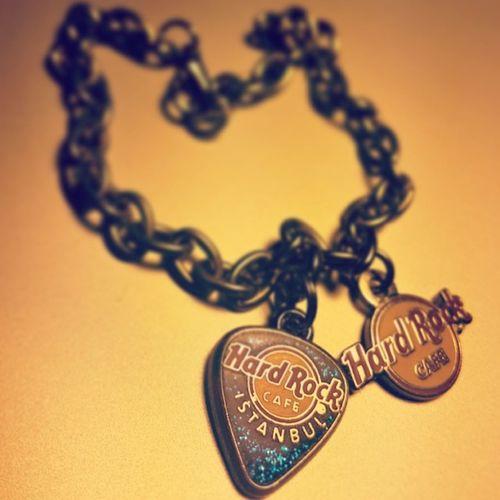 ????Hardrockcafe Hardrockcafeistanbul Hardrock Instajewelry bestjewelry wristband sohappy
