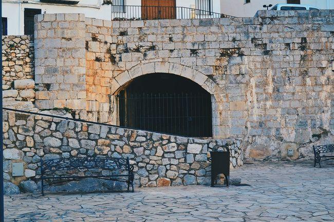 Architecture Hello World Peñíscola Brown Bench First Eyeem Photo Spain Building First Eyeem Photo